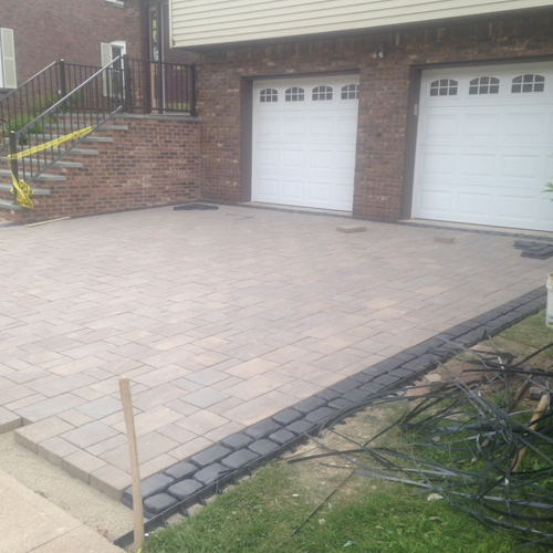 paver driveway installation in bergen county