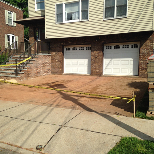 prep for paver driveway in bergen county nj