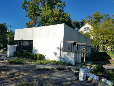 Commercial Exterior Masonry Project in Bergen County