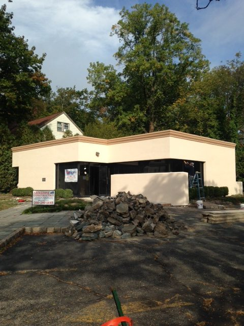 Commercial Masonry Project in Bergen County