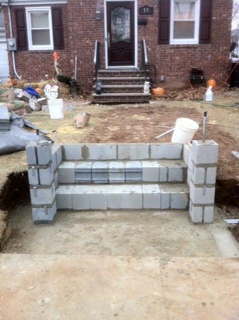 Masonry Project Progress Photo