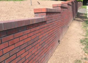 New Retaining Wall in Fort Lee NJ by Ardizzone Construction