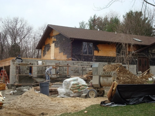 Home Construction and Foundation Masonry Project