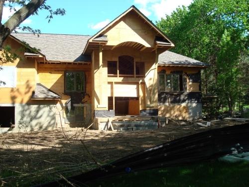 Exterior Stonework Project in Progress
