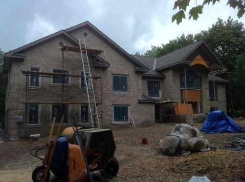 Exterior Stonework Masonry Project