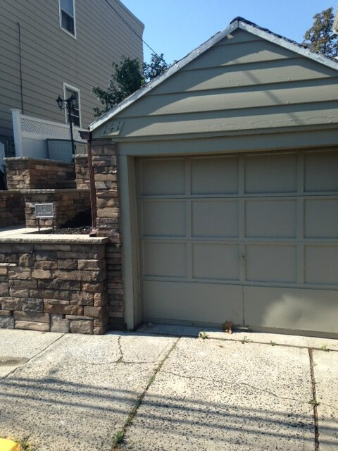 Stone wall and steps in secaucus nj