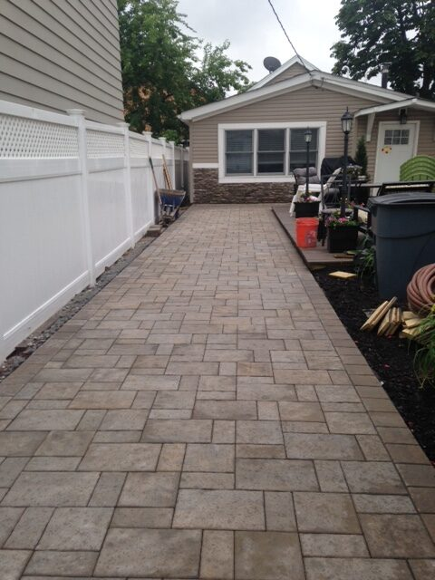 Paver Installation in Secaucus by Ardizzone Construction