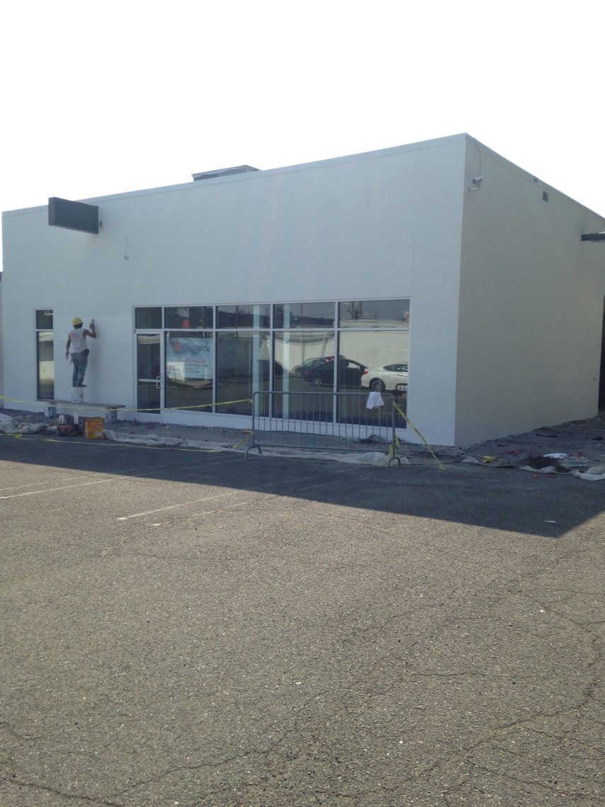 Exterior Commercial Renovation