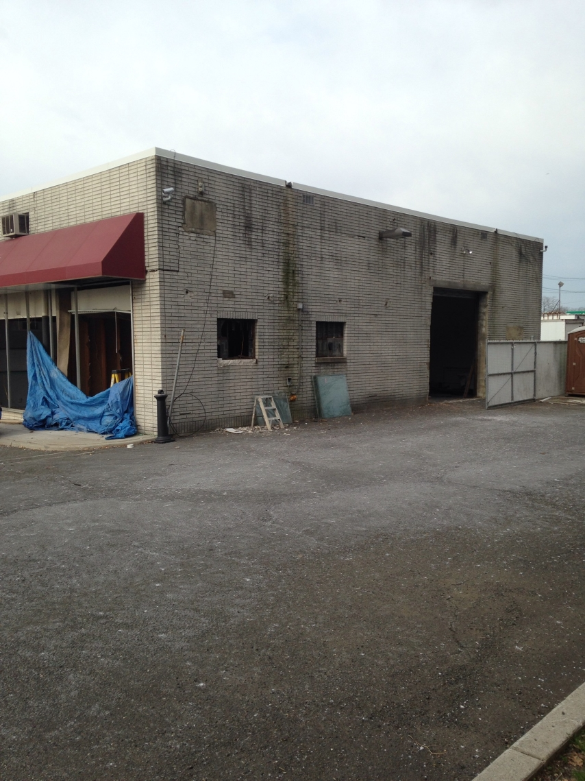 Commercial Renovation Before Photo